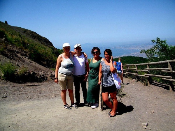 Climb and explore: Vesuvio and Herculaneum