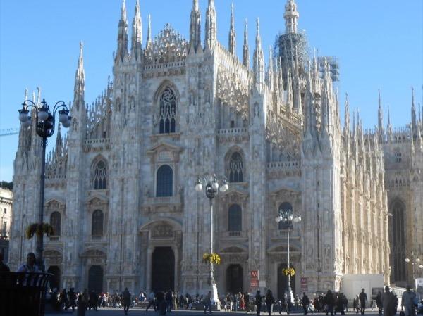 Milan after dark