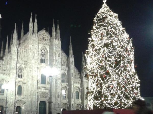 Christmas' atmosphere in Milan.