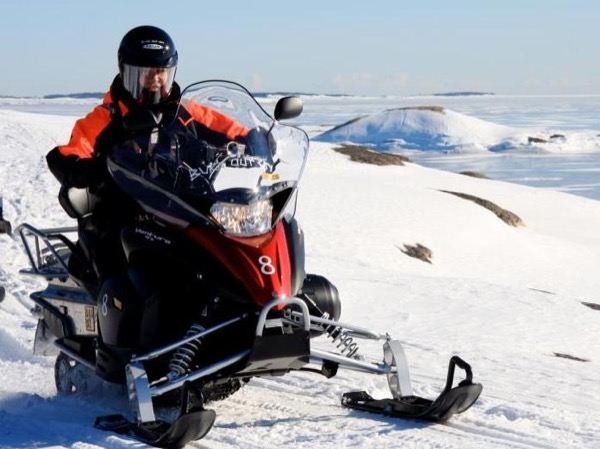 Private Snowmobile Adventure