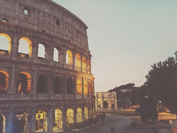 Colosseum, Roman Forum and the Palatine