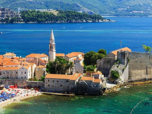 Urban Zones of Montenegro coast line - Kotor - Tivat - Budva with Saint Stephan island /For 4 to 7 person