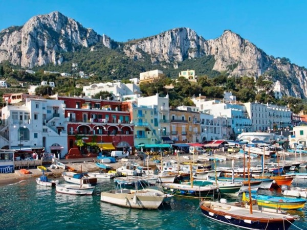 Capri, the pearl of the Mediterranean
