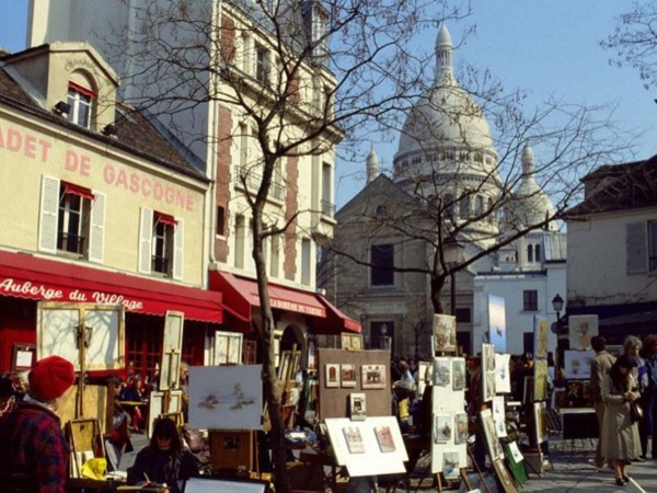 The artists of Montmartre