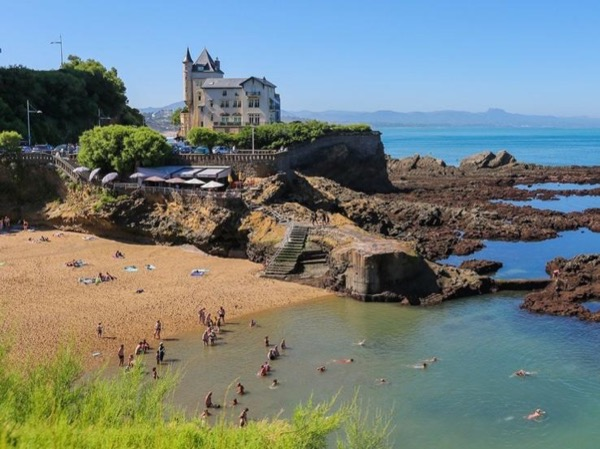 French Basque Country coast
