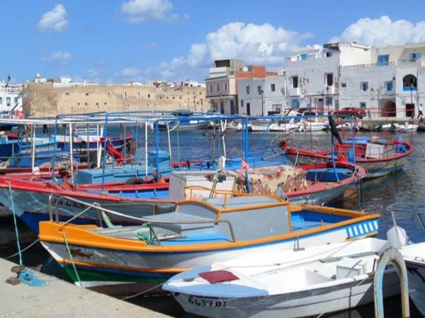 One day visiting Utique site,Bizerte city, fish barbecue and swimming in Cap Anjela, the northest point of Africa.