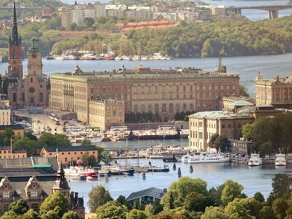 Stockholm Today and Yesterday