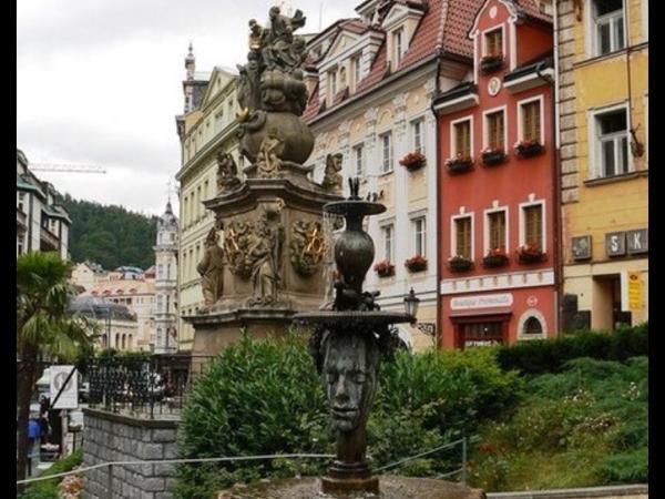 Karlovy Vary and Loket castle