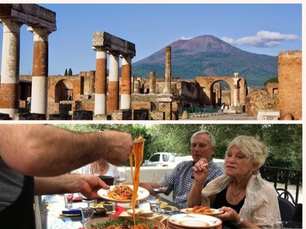 Pompeii, Vesuvius and Winery