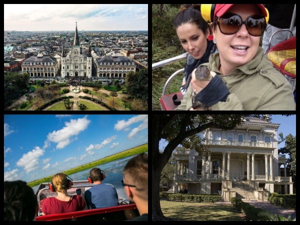 Private New Orleans City-wide & Swamp Boat Tour