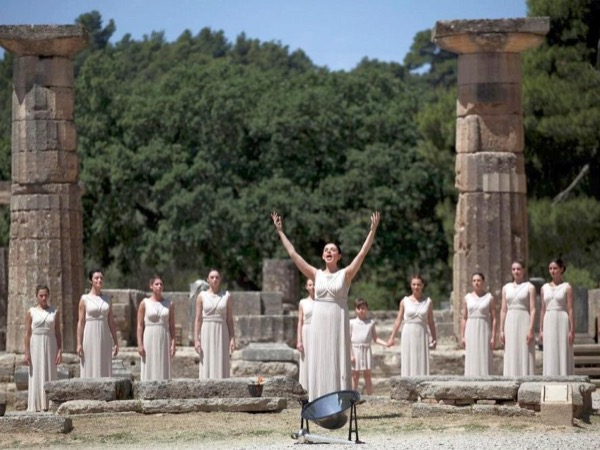 Ancient Olympia private tour by minivan