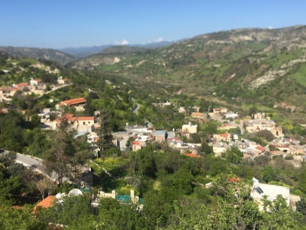 The wine routes of Troodos Mountains
