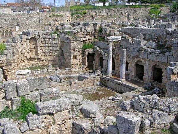 Corinth Canal - Corinth - Mycenae - Nafplion