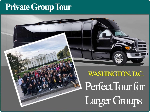 4 Hour Private Group Tour of Washington D.C. by Minibus