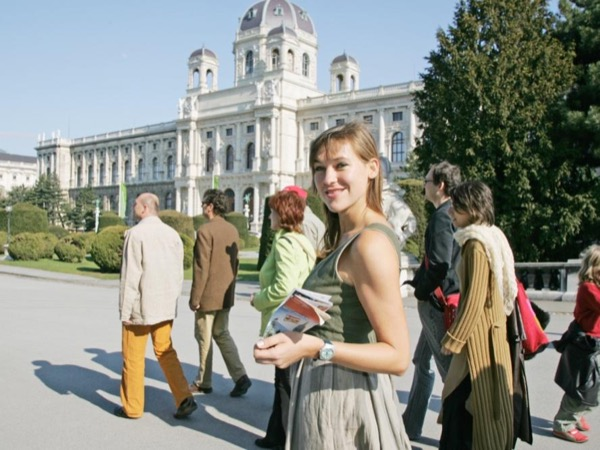 Walking tour in the center of Vienna