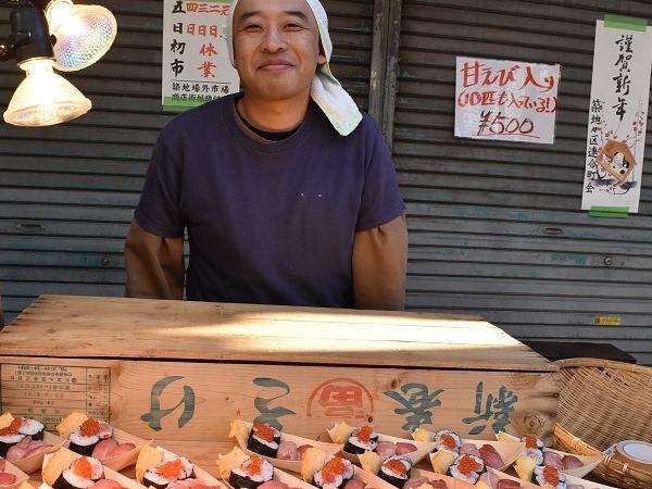 (6 hours) Tsukiji Food Market, Ginza Department Store Food Hall, and Asakusa