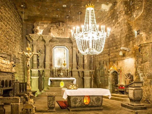 Wieliczka Salt Mine Private Half-Day Tour By Car