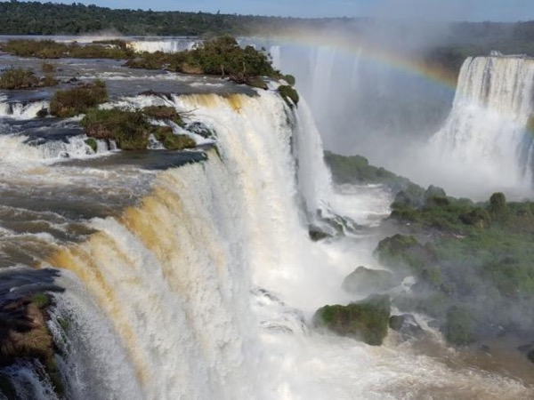 Private Tour to Iguassu Falls Brazilian Side include Transfer in and out Igu Airport (BRAZIL).
