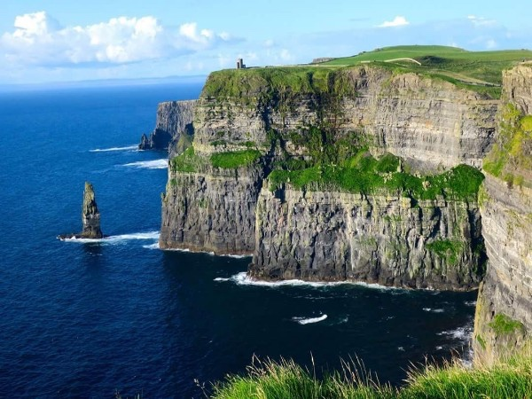 The Cliffs of Moher and Burren