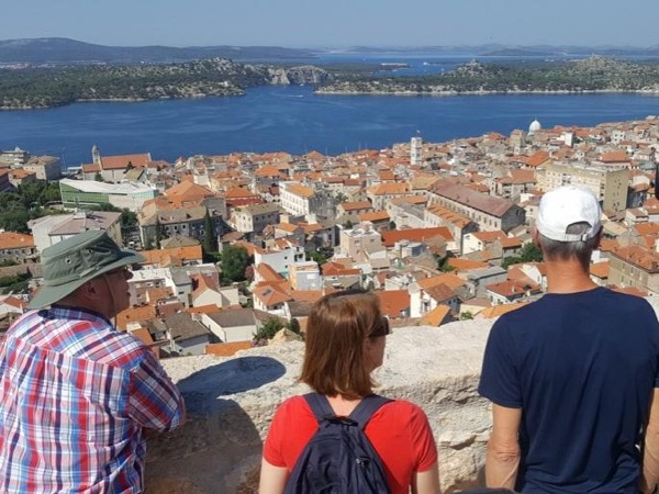 Panoramic Talk and Sibenik Walk, With Transfer - A Private Tour