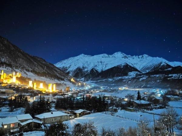 Svaneti - Snow tour up in the Caucasus Mountains