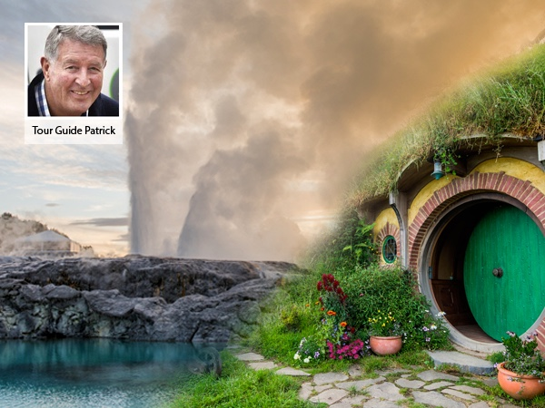 Private Tour to Rotorua's Living Maori Village and Hobbiton Movie Set