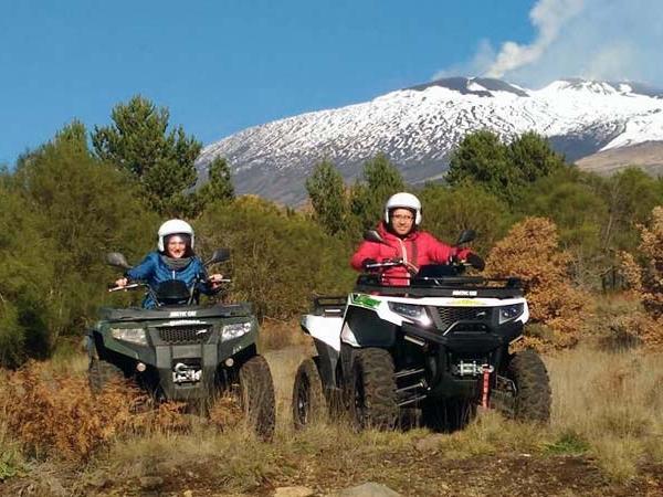 New! Mt Etna Quad Tour from Taormina