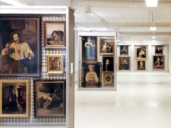 The storage of the Hermitage and Fabergé museum tour