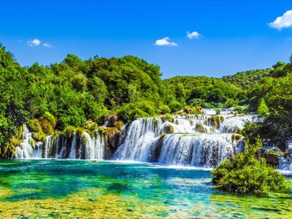 Krka National Park & Split Walking Tour with The Diocletian's Palace