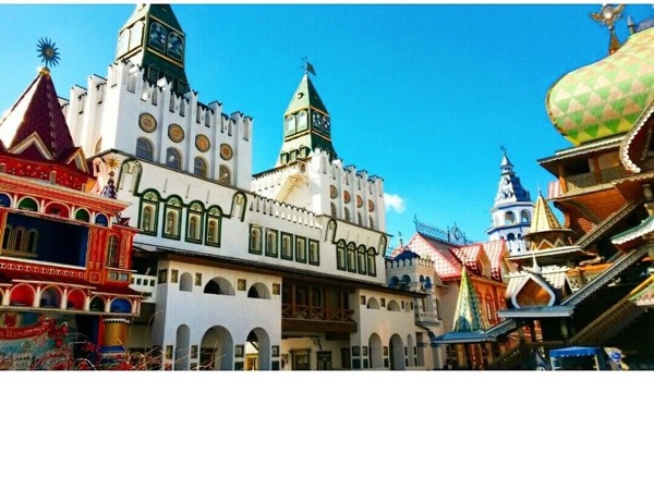 Izmaylovo Kremlin&Flea Market. El Izmaylovo Kremlin&Mercado de pulgas