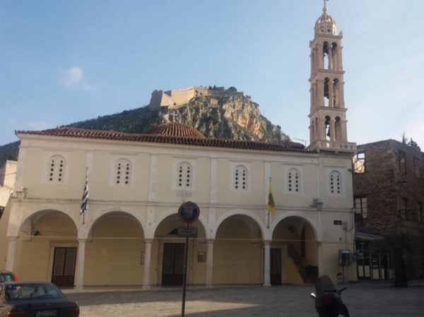 Walking tour in Nauplio, a picturesque city of Greece