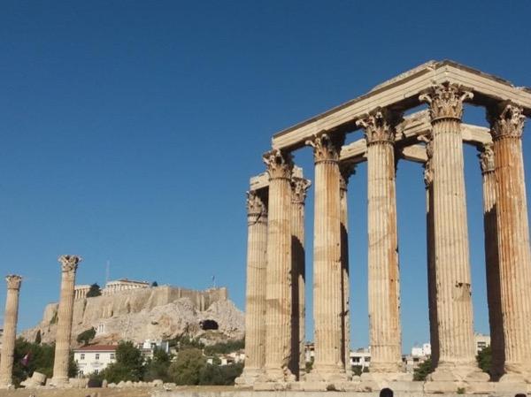 Walking tour in Athens