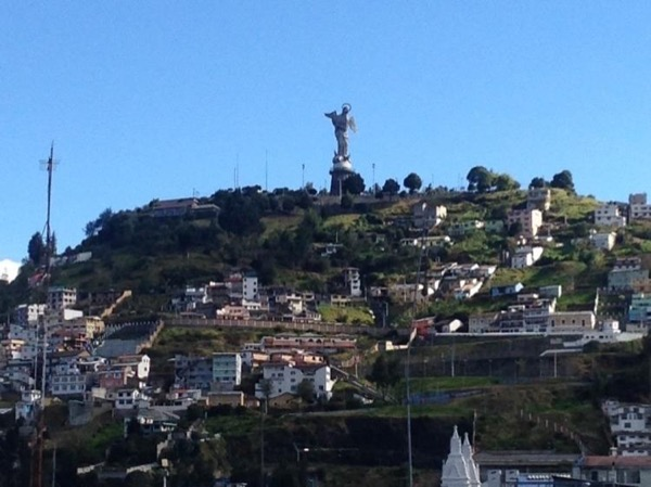 Old town Quito tour