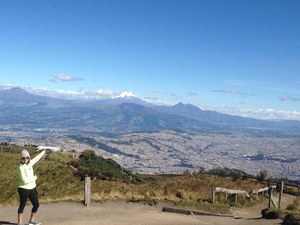 Teleferico and city views.