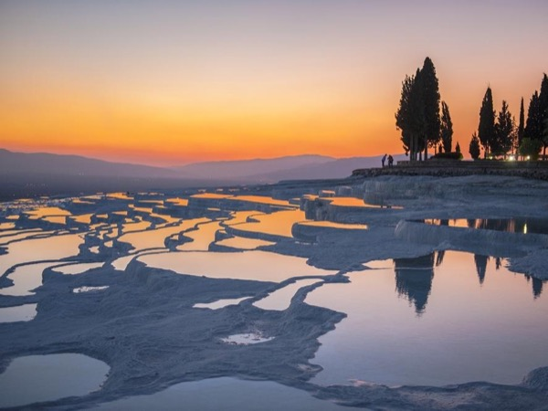 Pamukkale Travertenies and Hierapolis Ancient City from Kusadasi Cruise Port / hotels