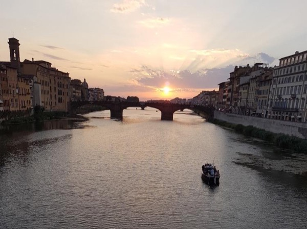 Sunset Highlights of Florence Private Walking Tour