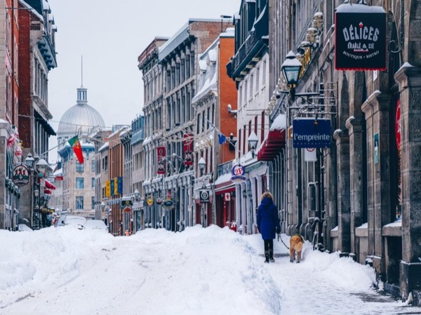 Winter Charms of Old Montreal - Private Walking Tour