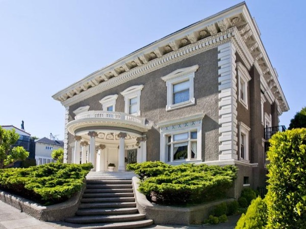 San Francisco's 'Billionaires Row' and City highlights - fun private tour in a luxury sedan