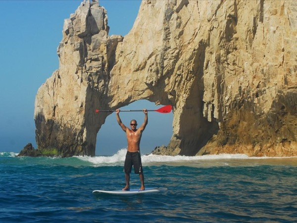Stand Up Paddle and Snorkel at the Arch
