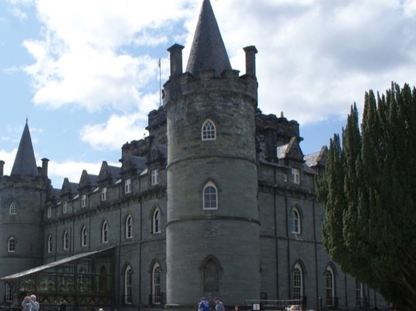 A Private Day Tour. From Glasgow or a cruise ship.The Scottish Highlands Inverary Castle .