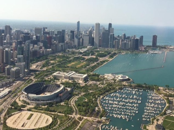 Chicago driving tour