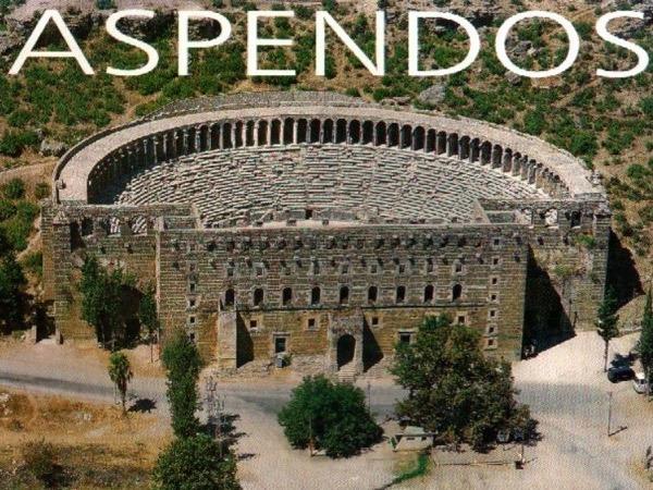 Perge & Aspendos / half day tour