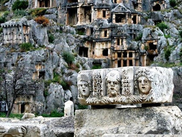 Lycian Coast : St.Nicholas Church and Myra Open Air museum/ full day tour