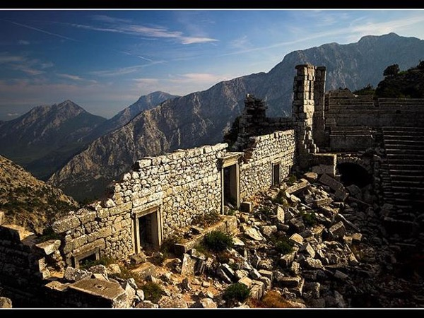 Termessos & Karain Cave & Düden Waterfalls / full day tour