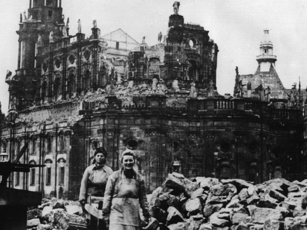 Dresden - the city rising from the ashes