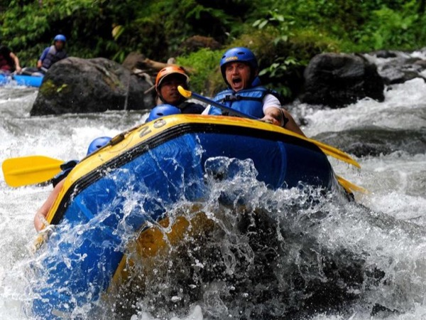White Water Rafting and Tegalalang Rice Terrace - Ubud Scenic Tour
