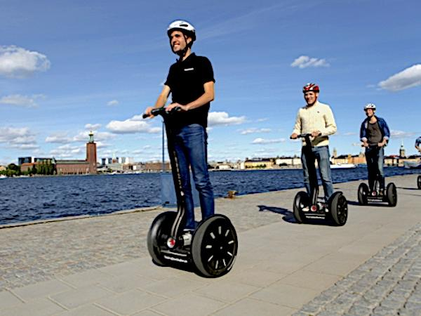 Stockholm Segway and Walking tour.
