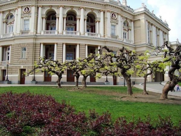 Odessa Opera House tour