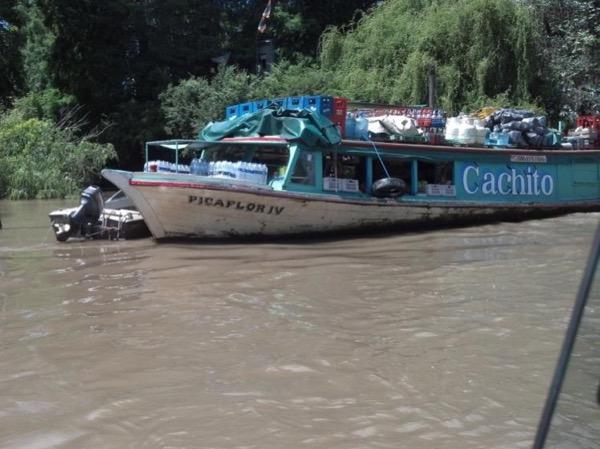 Tigre Delta by Public boat