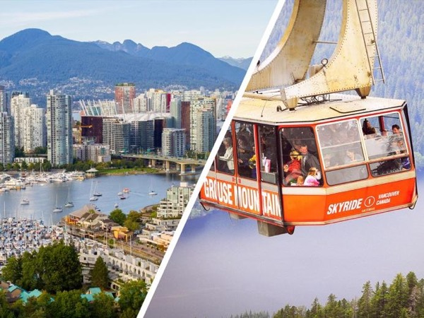 Vancouver City Finest plus Mountain Adventure (Private Tour Full day)